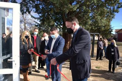 """Milevski: Për banorët e Lozovës, Shtëpia e kulturës """"Koço Racin"""" është shndërruam në objekt shumëfunksional për ngjarje kulturore dhe sportive"""