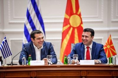 U mbajt takimi i parë i Këshillit të Lartë për bashkëpunim ndërmjet Republikës së Maqedonisë së Veriut dhe Greqisë me nënshkrimin e nënshkrimin e më shumë marrëveshjeve në interes të qytetarëve të të dy vendeve