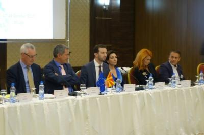 Министерот Сухејл Фазлиу на Регионалниот Форум за прекугранична соработка