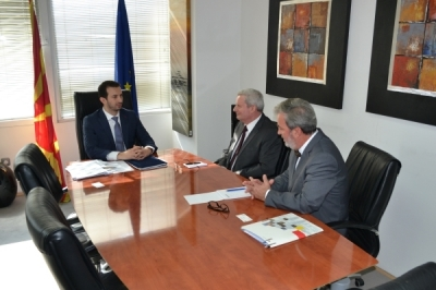 Средба на министерот Фазлиу со германскиот амбасадор Герберих