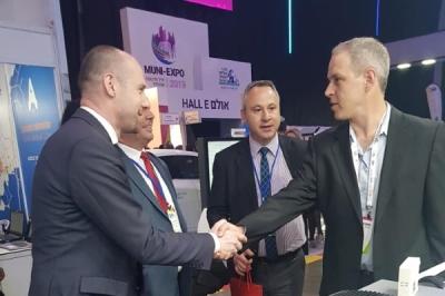 Заменикот министер за локална самоуправа Дејан Павлески на меѓународна конференција за општински иновации MuniWorld 2019