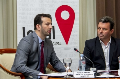 """Министерот Фазлиу на Конференцијата """"Партнерство за забрзана децентрализација, инклузивен и оддржлив развој"""""""