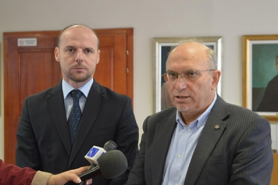 Заменикот министер Павлески на конститутивната седница на Советот за развој на Вардарскиот плански регион-100 милиони денари повеќе за РРР во 2018 година