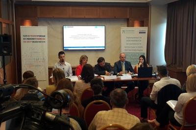 """Zëvendësministri Pavleski në debatin """"Procedurat e punësimit në administratë në nivel qendrorë dhe lokal pas zgjedhjeve"""""""