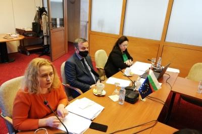 Takim teknik i Grupit të përbashkët të punës  për IPA Programin INTERREG për bashkëpunim ndërkufitarë ndërmjet Republikës së Bullgarisë dhe Republikës së Maqedonisë së Veriut 2021-2027