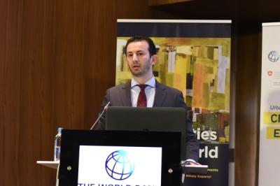 Министерот за локална самоуправа Фазлиу на Конференција на НАЛАС-Градовите двигатели на развојот